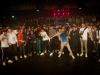 """Pendant le concert de Dinos, ça fait des """"Circle pit"""". Photo Edouard Roussel"""